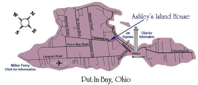Map of Put-in-Bay